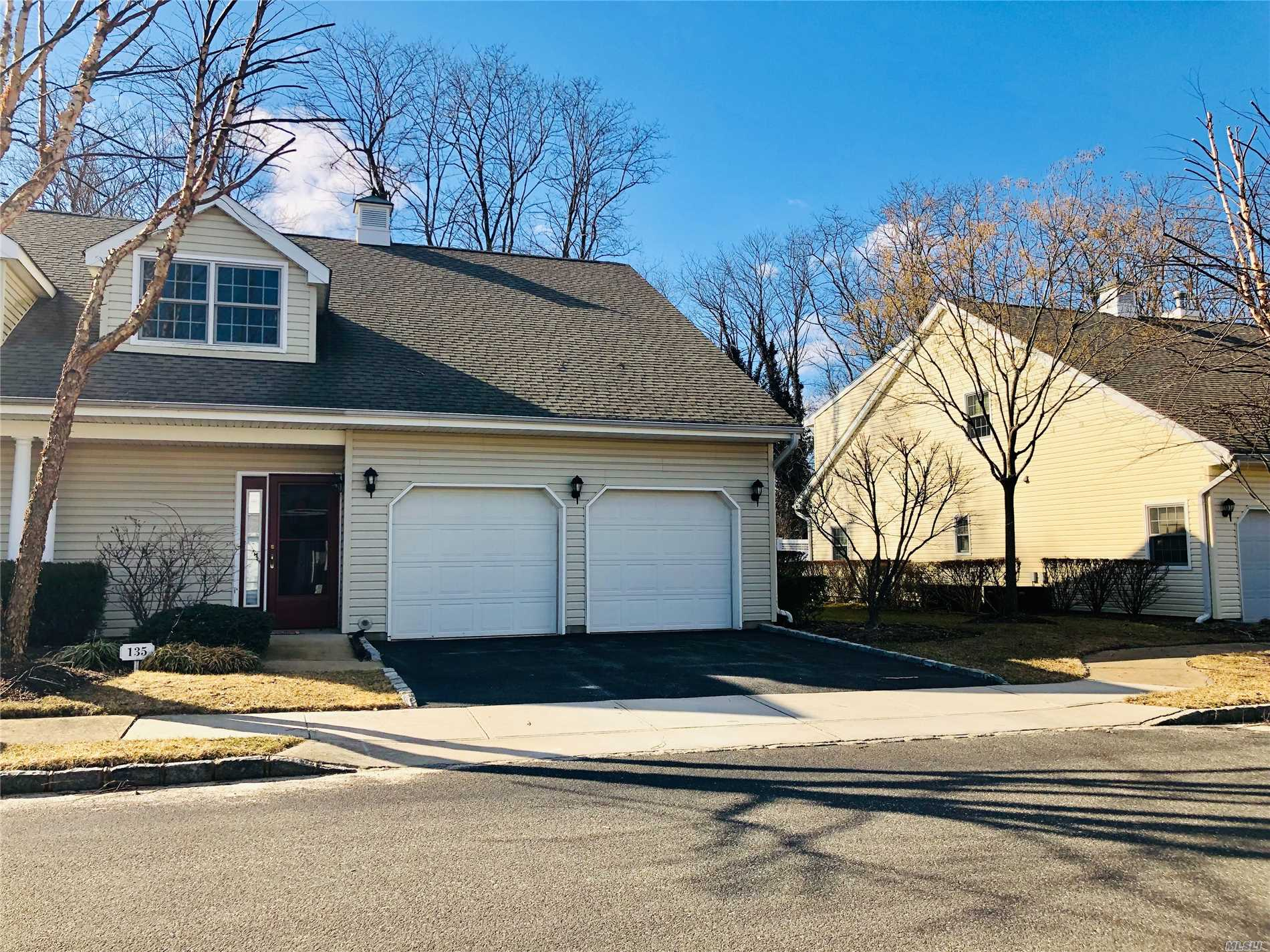 Sought After Corner Townhouse With Two Car Garage. Maintain An Upscale Quality Of Life With A Welcoming Foyer, Spacious Living Room And Elegant Formal Dining. Master Suite On First Floor. Laundry And Powder Room Complete The Main Level. The Second Floor Offers Another 2 Bedrooms, A Full Bathroom And Bonus Open Family Room, Overlooking Main Level. Access To Clubhouse, Pool, Gym, 24/7 Security And More.