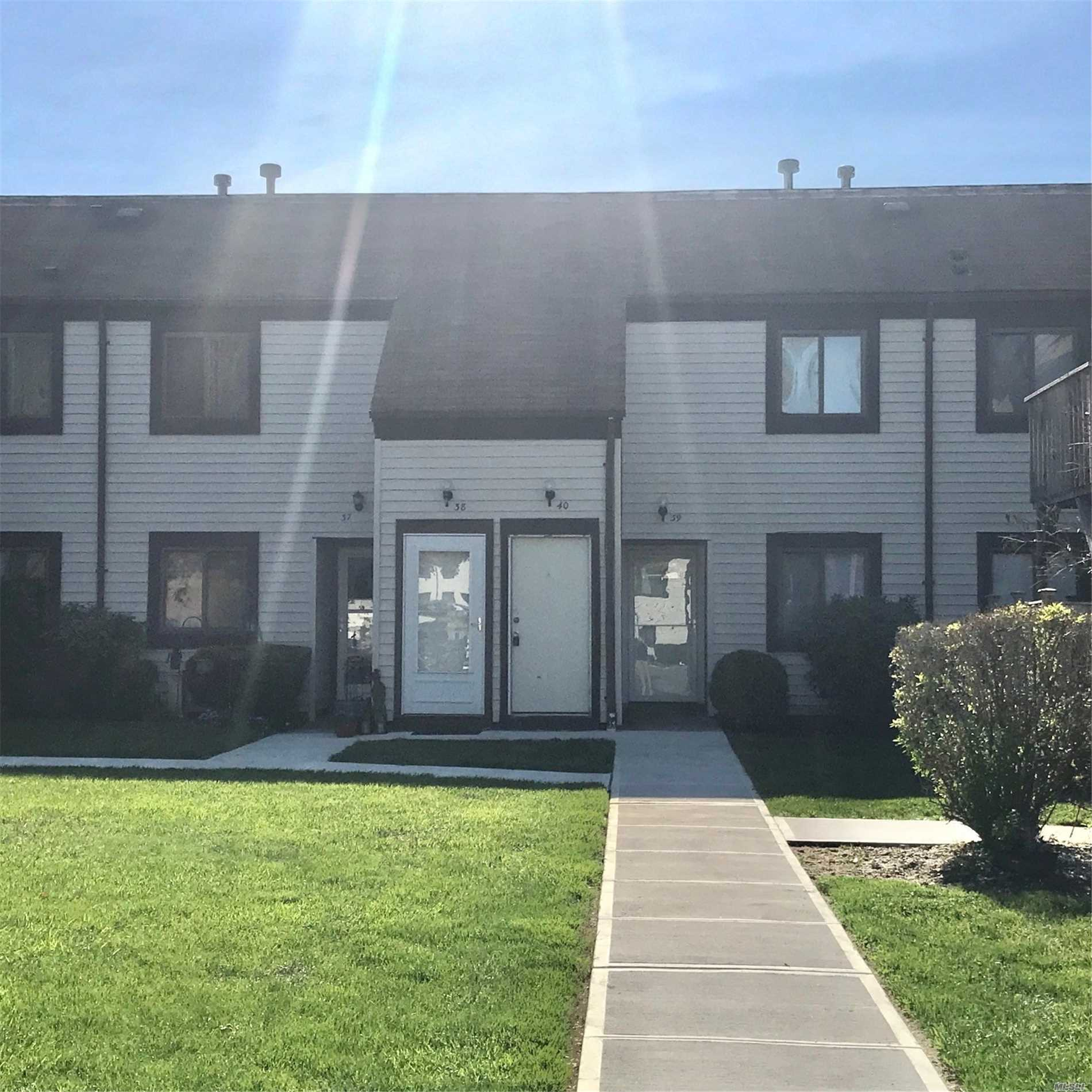 Large Living Room, Eat In Kitchen, Roomy Bedroom, Full Bath, Laundry, Gas forced hot Air. Central Air. Move in condition ! Amenities Include Community Pool, Clubhouse, And Tennis Courts. Pet Friendly. Must See !
