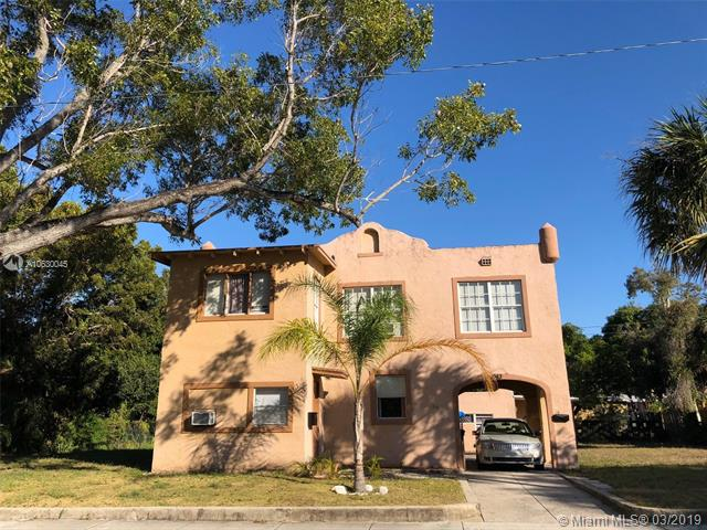 Rented At 2400 A Month With Tenants Paying Utilities And Repairs! Renovated Spanish Style Palm Beach Home With 5/3 Main House And Rear 2/1 Cottage. Property Also Is In A Opportunity Zone And In Great Proximity To Northwood Village, City Place And Palm Beach Island. Over 8.5% Cap!
