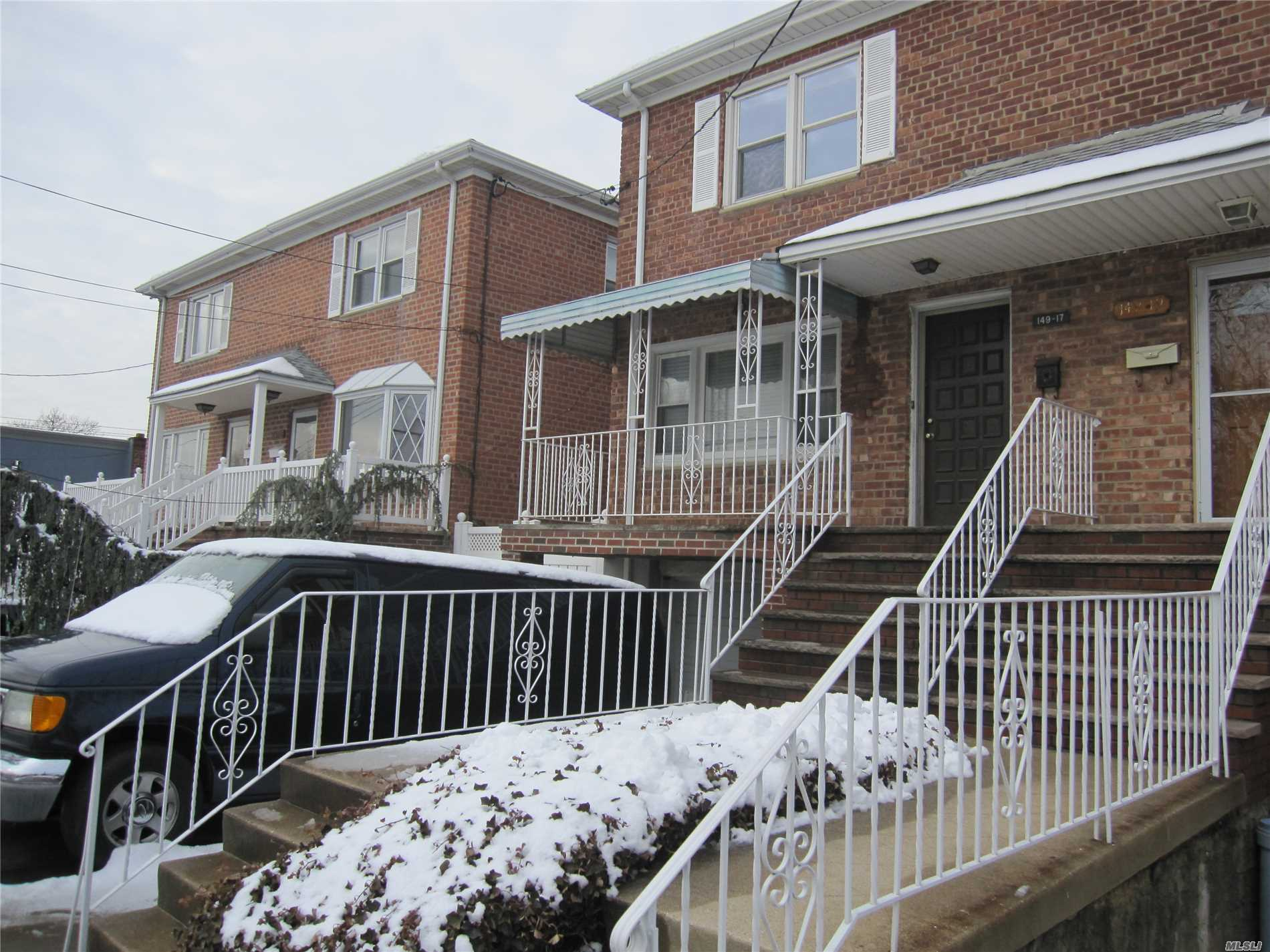 Sold In As-Is Condition. Brick 2 Story House, Needs Tlc. Close To School, Shops & Flushing Fields Park.