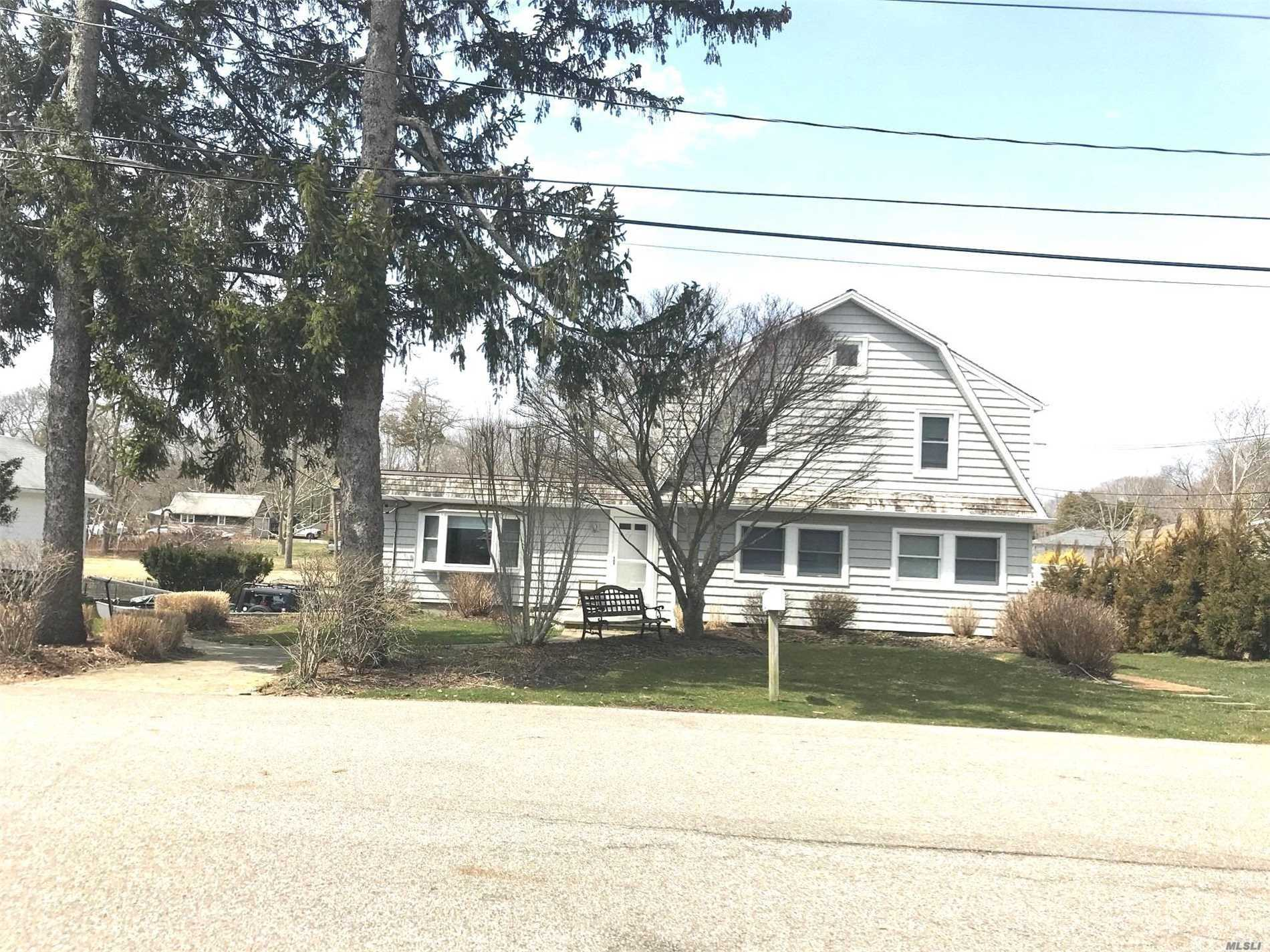 Beautiful Waterfront Rental With 100 Ft Of Bulk Heading. Large 2 Bedroom Apartment On First Floor Only. Very Modern With A Beautiful Kitchen, Living Room, Dining Room And Some Storage. Requires Credit Report And References.