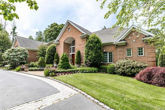 A Luxury Oasis With Incomparable Amenities On A Meticulously Landscaped 1.33 Acre In Prestigious Hunting Hollow Farms The Ultimate Tranquil Setting & Epitomizes Upscale Living, This Is A Rare Opportunity To Own A One-Of-A-Kind Custom Haven Colonial With 2 Master Suites.Boasting 6000 Sq Ft of Elegant Living On 2 Levels Plus An Fully Finished Lower Level Provides The Ultimate Backdrop For Entertaining As Well As Optimal Comfort For Family & Guests.This is a One of A Kind True Transitional Colonial.
