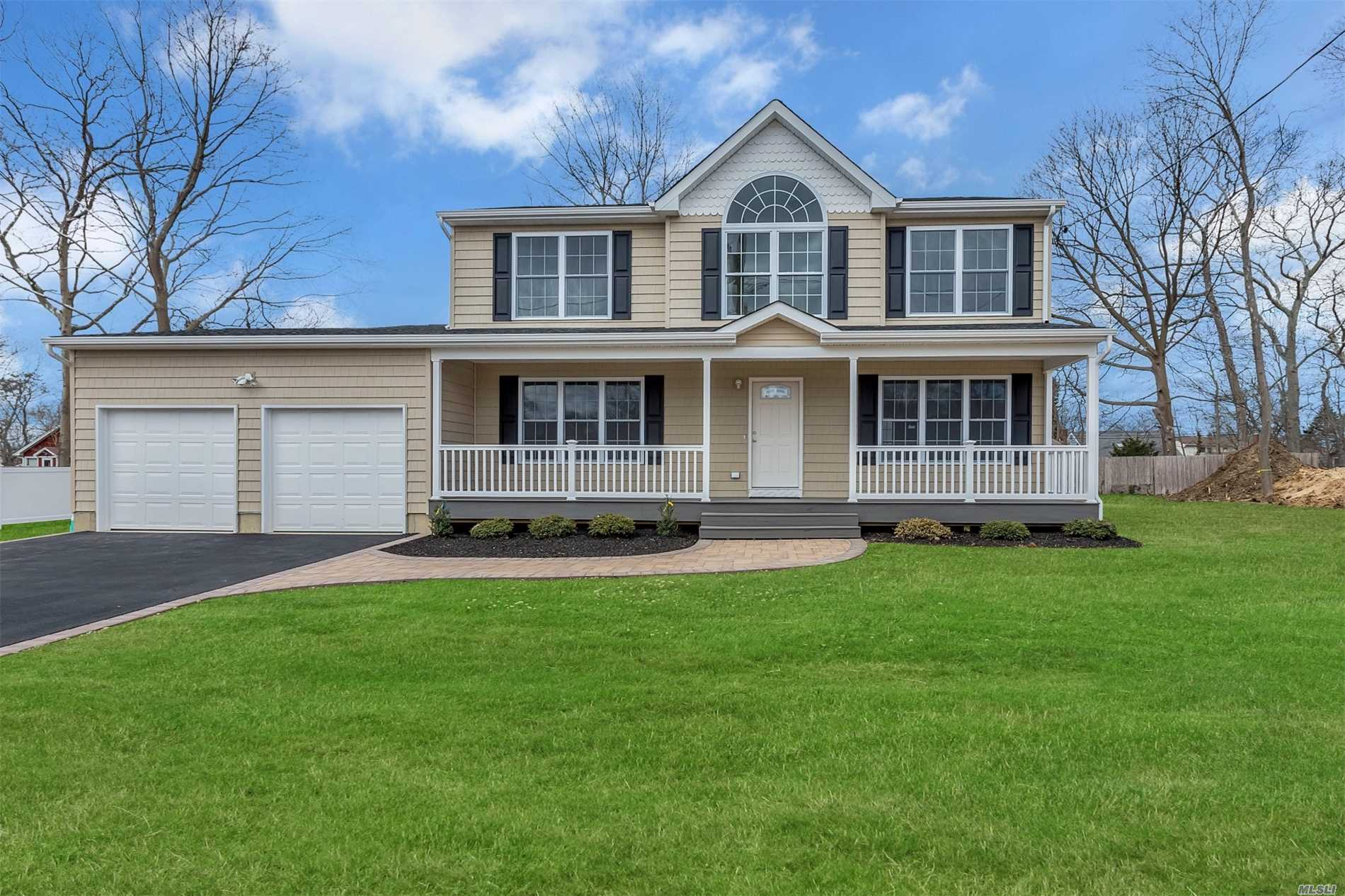 This 4 Bedroom, 2171 Sq Ft Colonial Offers A Covered Proch, Full Basement-(1162 Sq Ft.), Eat Iin Kitchen, Din.Rm, Great Rm. 3 1/4 In. Oak Flooring On The Entire First Floor, Oak Treds, Oak Landing On 2nd Floor, Crown Molding On The Entire First Floor, S/S Applliances, Choice Of Granite, Choice Of Cabinets, Choice Of Tiles, Choice Of Carpet In Bedrooms, Master Suite W/ A Full Bathroom!!! 2 Car Garage(412 Sq.Ft.)(Not Part Of Liv. Sq Ft. )Photos Of A Previously Built Home..