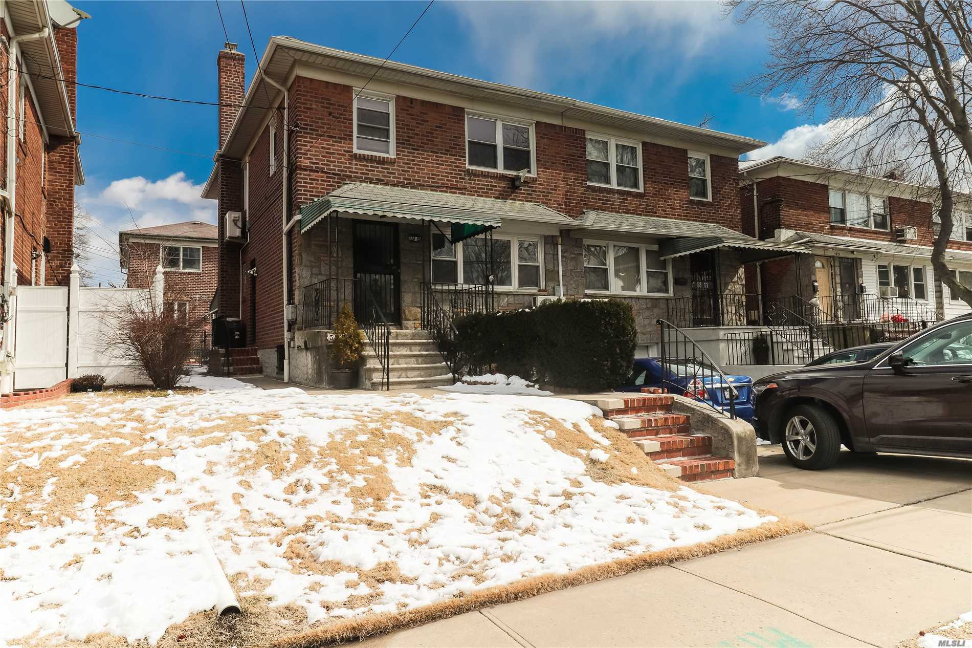 Enormous potential and great investment opportunity! Centrally located, charming colonial home in the heart of Fresh Meadows! Close proximity to shopping, restaurants and major colleges (St. John's University, CUNY Queens College). Underground garage and two-car driveway!
