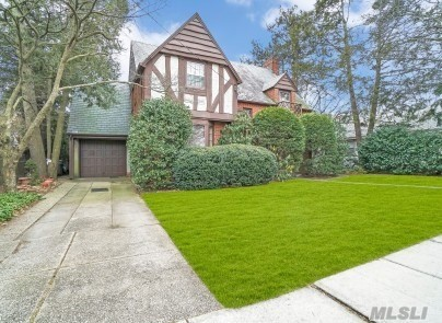 This Charming Tudor Is A Must See. It Has A Living Room W Fireplace, Formal Dining Room, 4 Bedrooms, 1.5 Bathroom, Full Basement. Great Yard, Close To Town, Hospital, Library, Schools , Pool Club. Its All About The Location, Come Take A Look This Will Not Last!!