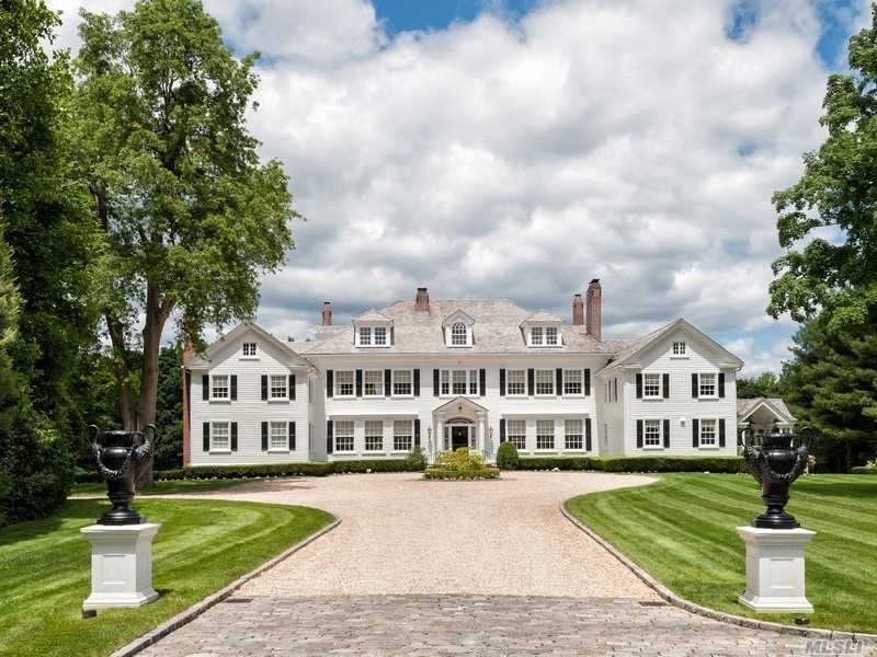 An Unforgettable Gated, Tree Lined Drive Introduces Northway, One Of The Most Beautiful Five + Acre Estates On The North Shore. It Has Been Meticulously Rebuilt And Imbued With Modern Elegance. Ideal Setting For The Buyer Who Enjoys Entertaining On A Grand Scale. Salt Water Pool, Poolhouse, Formal Gardens, Expansive Herringbone Terrace. Generator. Locust Valley Sd.