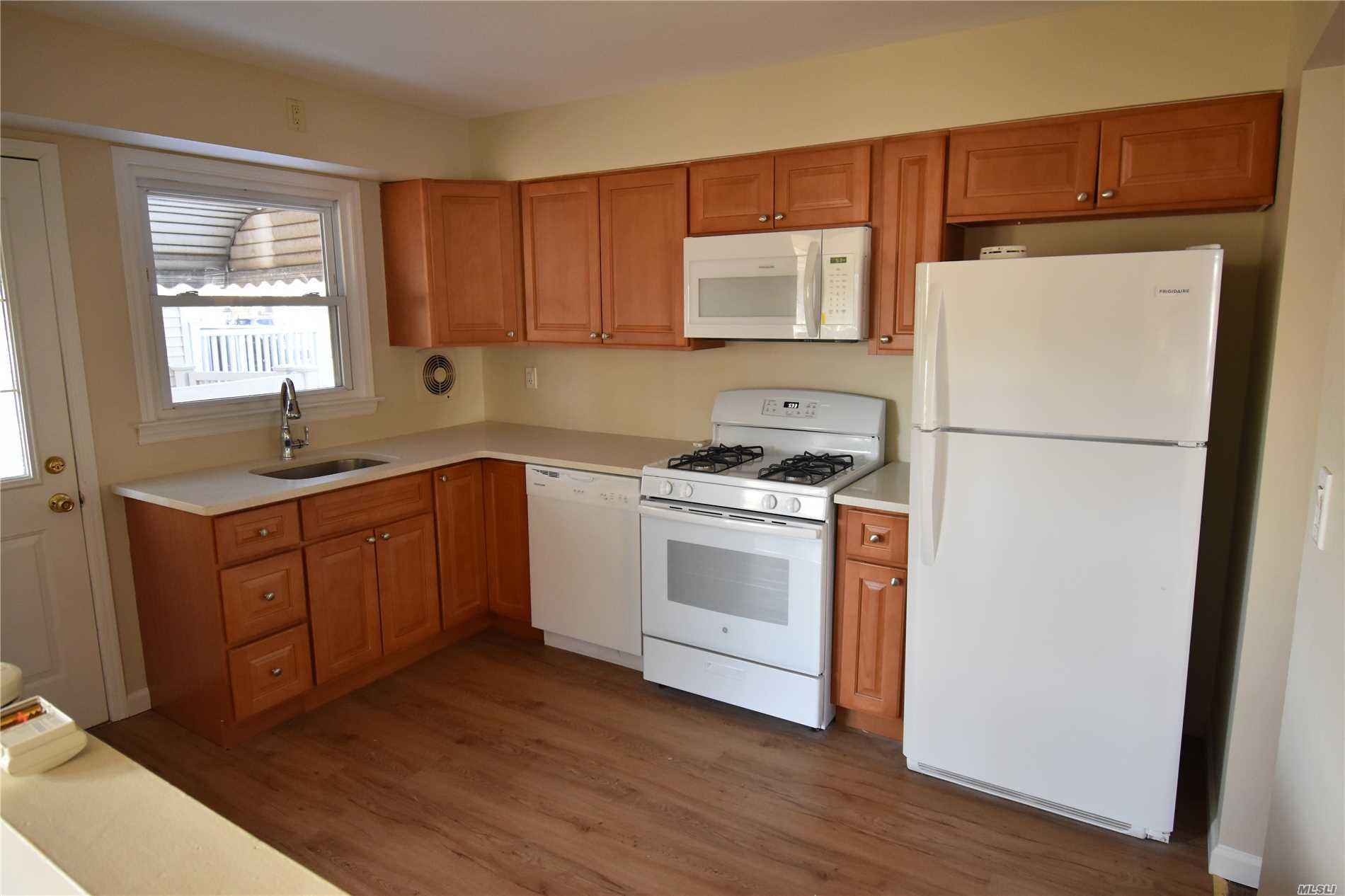 Main part of legal two family home. Tremendous Space, New Kitchen With Quartz Countertops, Newly Refinished Floors, Full Access To Yard, Basement, And Walking Distance To Village Stores. Lirr Farmingdale Train Station Is An 11 Minute Walk. No Dogs Over 10Lbs, Full Basement With Laundry Room, Full Bath And Outside Entrance. This House Is A Great Opportunity To Be In The Village And In A Renovated Home. See It Today!