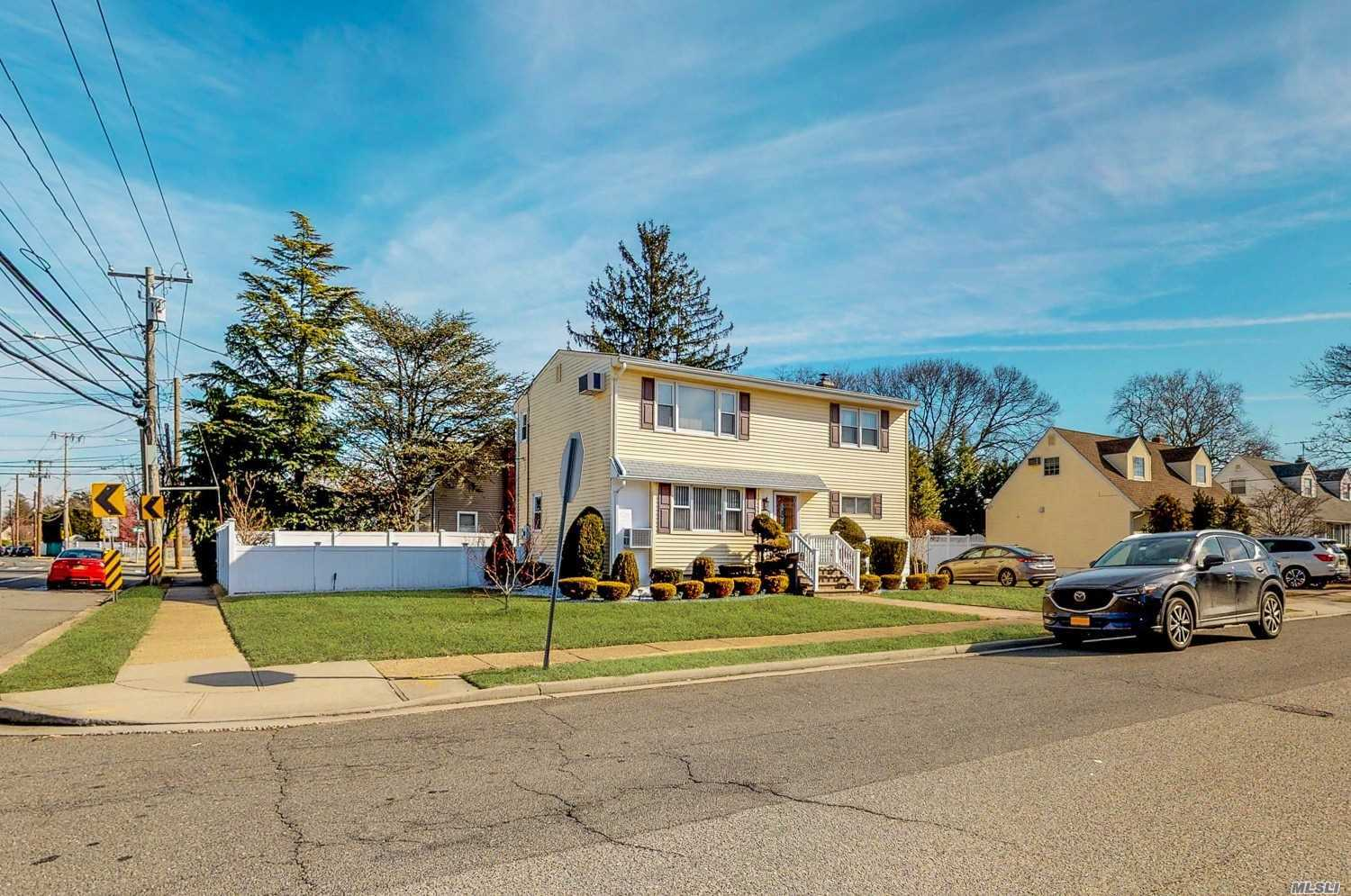Fabulous Mint Condition Legal 2 Family Home In Desirable Oceanside! Move Right In! Large Yard Finished Basement And Garage. Low Taxes With Rental Potential! Must See Will Sell Fast!
