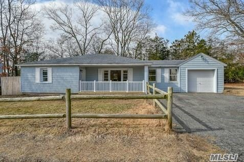 Move Right Into This Completely Renovated Ranch! Features Include Eat In Kitchen With Granite Counter Tops And Frigidaire Stainless Steel Appliances. Brand New Full Bath. Central Air And Full Unfinished Basement With Outside Entrance.