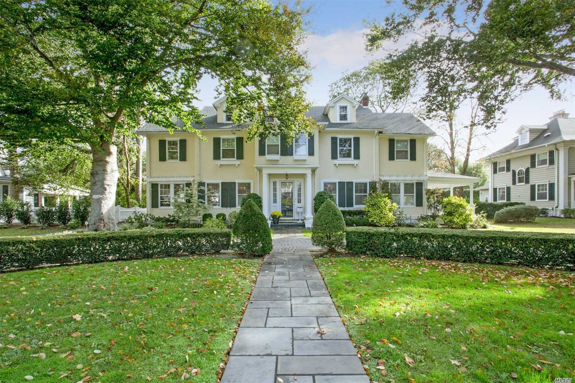 Old World Charm With Contemporary Practicality And Design. This 6 Bedroom, 5 Bath Elegant Colonial Offers Expansive 4, 000+Sq Feet Of Luxury Living Space. Sitting On 100X150 The Private Backyard Features Blues Stone Patio, Great For Entertaining. New Roof 2017