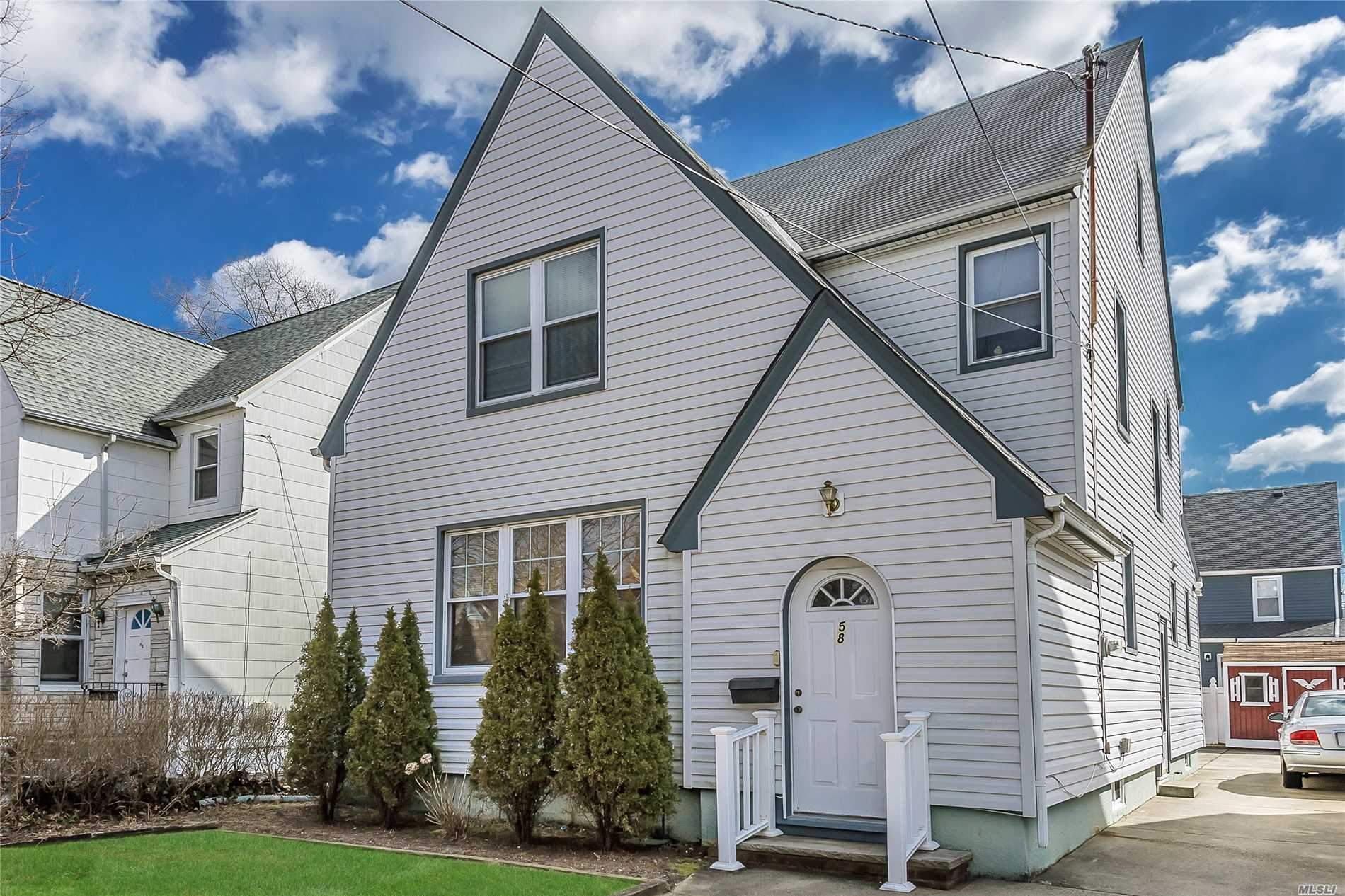 Valley Stream, Gibson Colonial, 4 Bedrooms, Living Room, Formal Dining Room, Eik, 2 Full Bathrooms, Walk Up Attic, Full Basement With Ose. Private Yard With Deck. Convenient Location To Shopping,  Highways, Public Transportation, 30 Minutes Into Manhattan