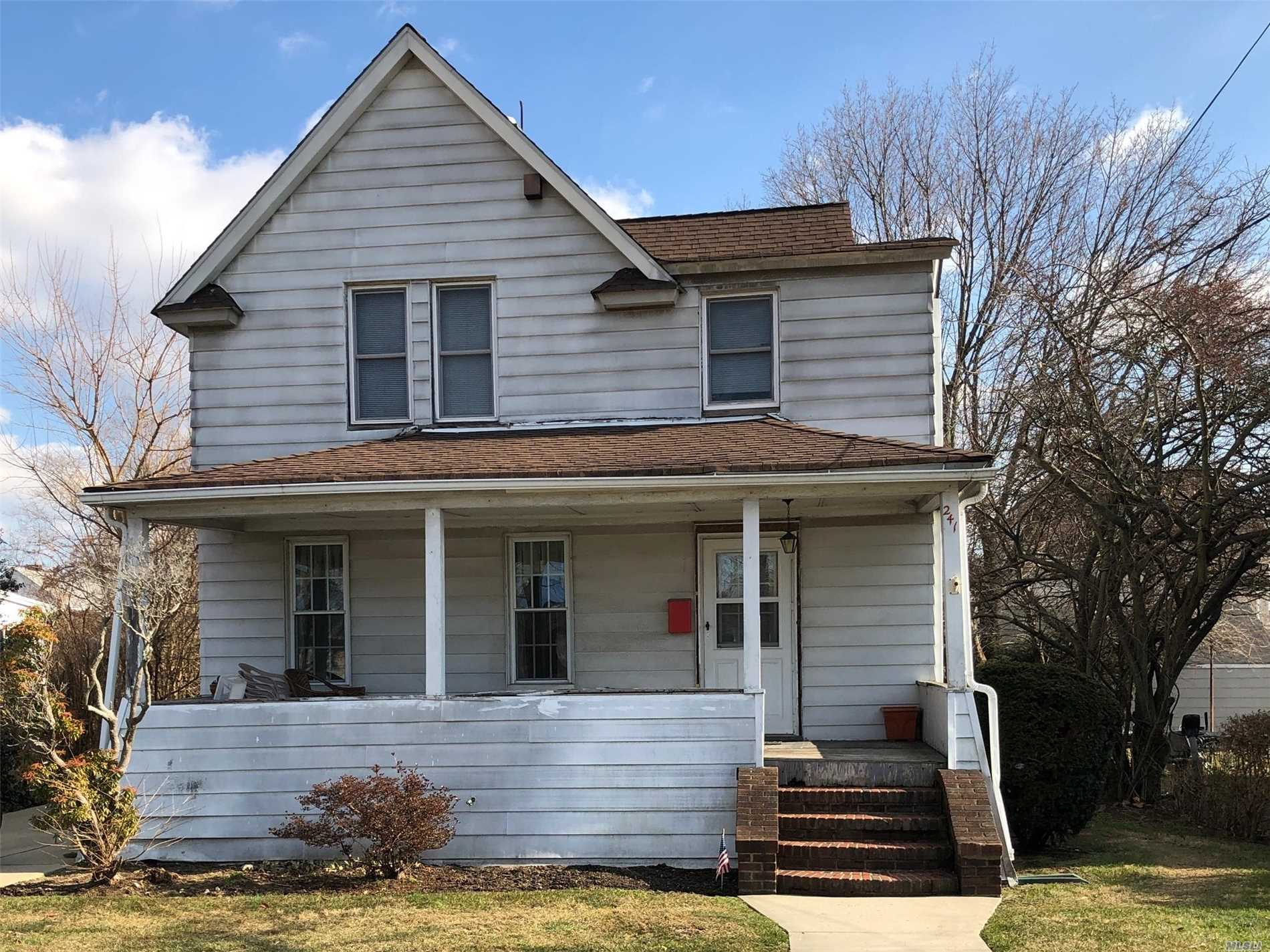 Bring Your Tools And Make This Your Own. Great For Investor Or Looking To Add Your Own Style. Oversized Property In Great Location. Gas Conversion With New Boiler 2013, New Driveway 2013, Roof 2006.. Sold As Is. Cash Offers Only!