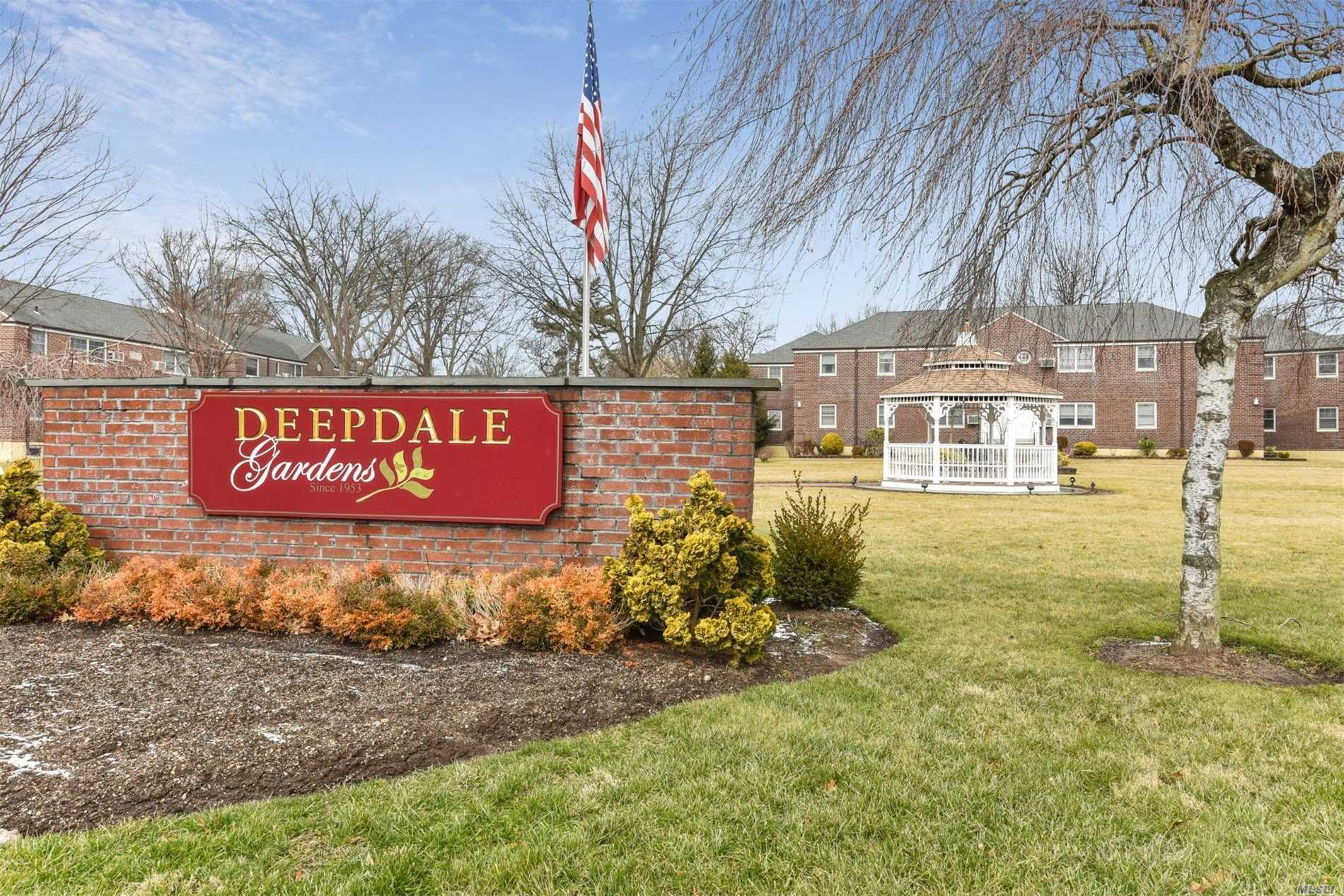 Largest 3 Bedroom/1 Bath/Corner/First Floor Unit/Waster-Dryer In Apartment/Make This Co-Op Your Own!/Beautifully Situated Near Little Neck Parkway With Express Bus To Nyc/Bus To Little Neck Lirr/Deepdale Gardens Is Known For It's Easy Livability/Low Monthly Of Only $933 Includes: Electric, Heat, Hot Water, Washer-Dryer + You Get 2 Parking Permits/Appliance Fee Depends On Unit/Have An Eye For Design? You've Found Your Gem In The Rough!/Apt Sold As-Is/Won't Last So Hurry!