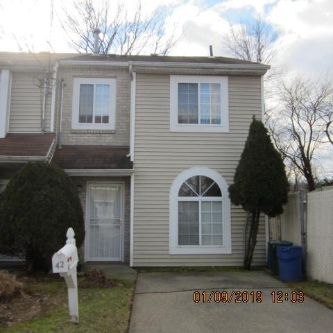 Move in condition, freshly painted, new carpeting in bedrooms, hall & stairs. Living-dining, new laminate floor, all appliances, refrigerator less than 6 mths. Huge back & side yard, large deck off LR, woodburning fireplace (never used) outdoor lighting, private driveway.