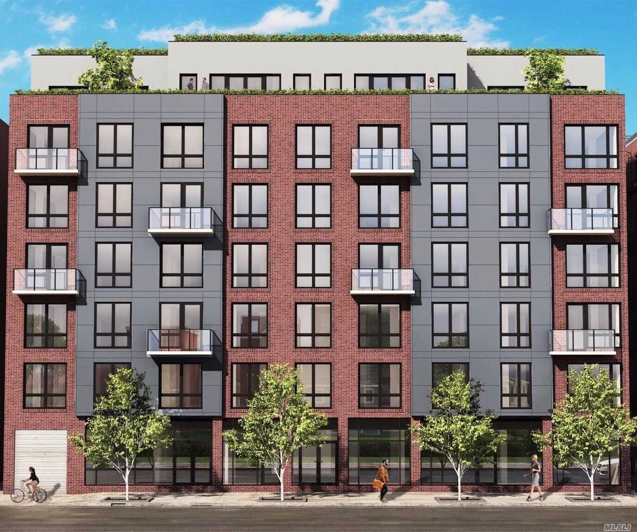Stunning 1 bed with home office, South-East facing unit. Great view with plenty of sunlight. Hardwood floors throughout, In unit washer/dryer and large kitchen great for entertaining. Close to transportation, shopping and entertainment. Nestled in the heart of Historic Forest Hills this unit has much to offer!