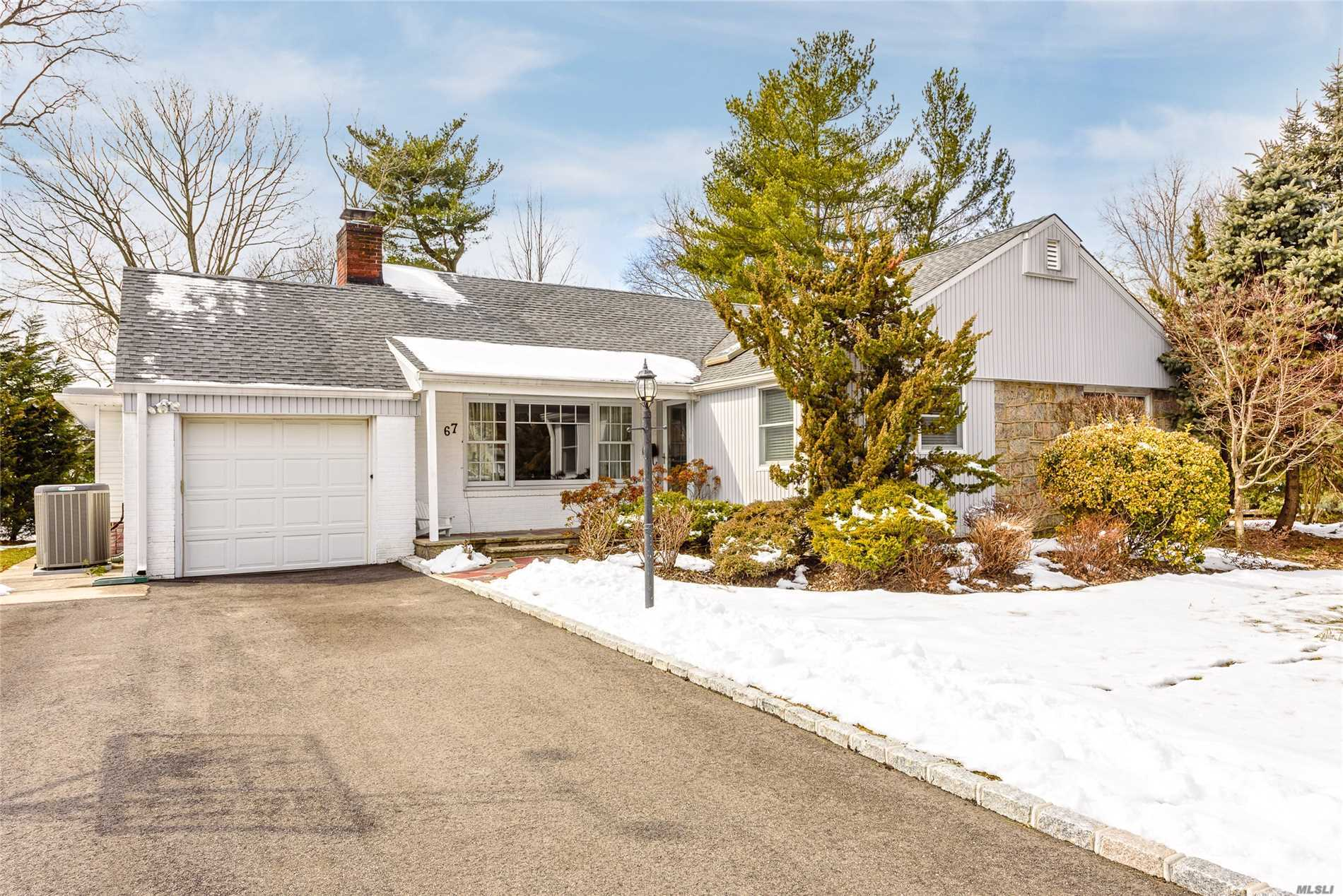 East HIlls. Diamond condition with bright, open and airy ranch in perfect location in the heart of Fairfield Park. Featuring all formal rooms for entertaining including 4 family bedrooms, updated kitchen and baths, beautiful hardwood floors throughout and fabulous finished basement. Wonderful backyard with large patio. This is truly move in condition with access to the East Hills Park. Will not last!