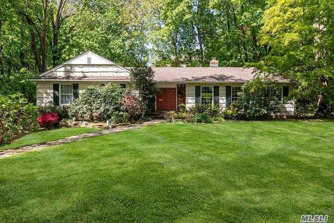 Beautiful well maintained ranch on 1/2 acre hidden in a quiet cul-de-sac in Plandome Manor. Beach & Mooring (with fee) Privacy galore! Endless possibilities.