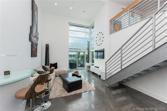 Priced To Sell!!! Great Location In Miami Beach, Cross The Street To Get To The Beach!! 2 Bedrooms & 2 Baths Loft. 18 Foot Ceilings With Floor To Ceiling Windows. Open Kitchen With Stainless Steel Appliances. 2 Terraces & 2 Assigned Parking Spaces. Monthly Hoa $519. Enjoy Condo'S Rooftop With Pool, Sundeck And Amazing Ocean Views!!!
