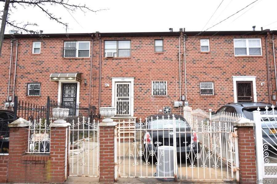 Brick 1 family- attached. 3 bedrooms, 1.5 baths. Finished basement with stand up shower and separate entrance. Private driveway.