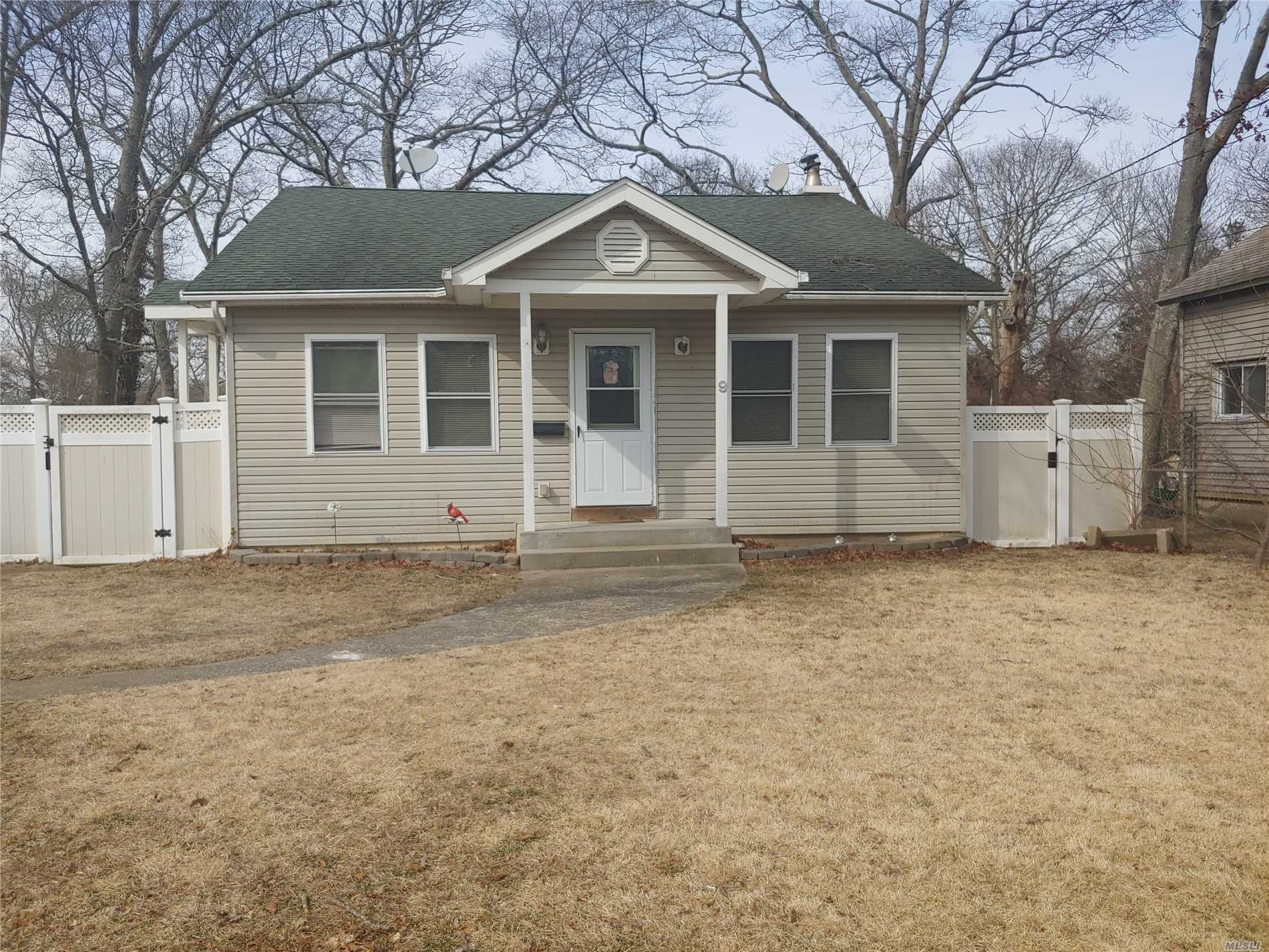 Cute Ranch - Larger Than It Looks!! Features Open Concept Living Room, Kitchen & Dining, 3 Bedrooms, 2 Full Baths, Basement With Inside & Outside Entrance, Cute Fenced In Yard, Deck And Extremely Low Taxes!!! Great Tenant In Place - Would Love To Stay If Possible.