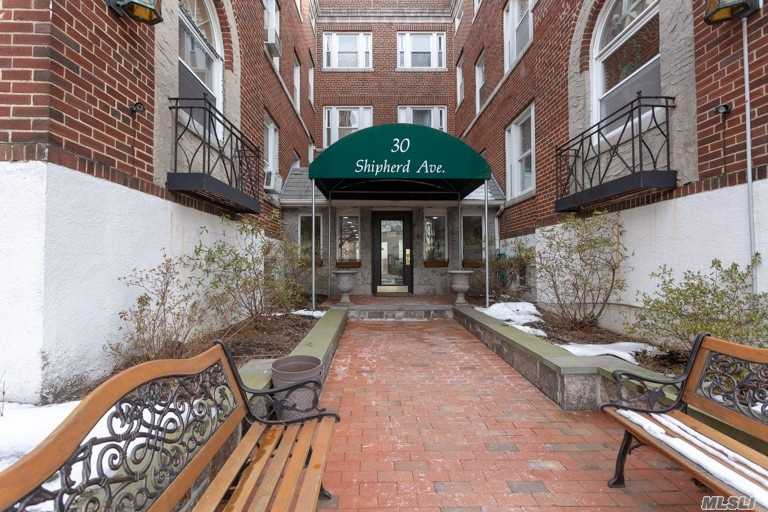 Beautifully renovated two bedroom unit with updated kitchen and bath! Closets galore, laundry and storage unit in basement. Second floor of three story building with live in super and bbq area outside. Close to LIRR, shopping, dining, and more! Motivated seller-won't last!