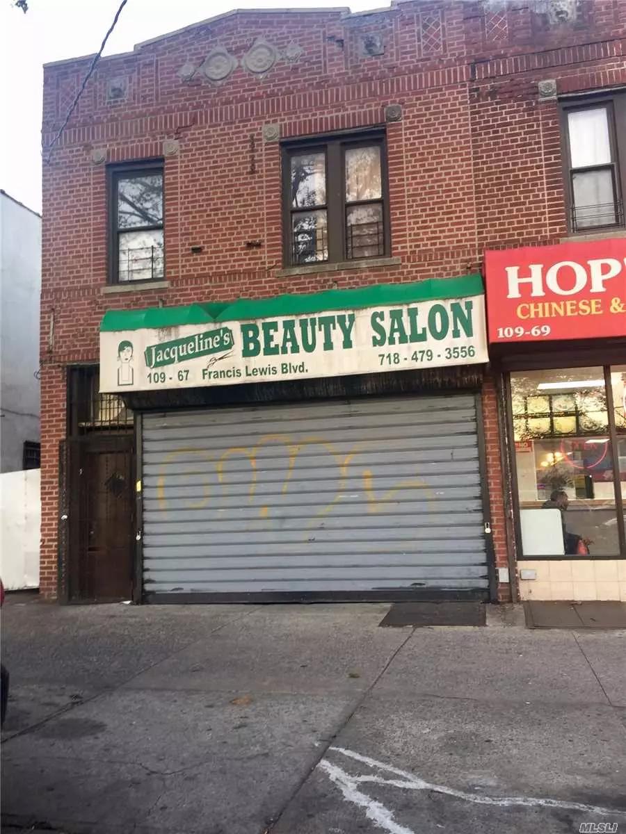 Mixed Use, Hair Salon Front Of Bldg., Bldg. Rear 2 Bedrm Apt, Lr, Kit, Bath, 2nd Fl, 3 Bedrm Apt, Lr, Eikit, Bath