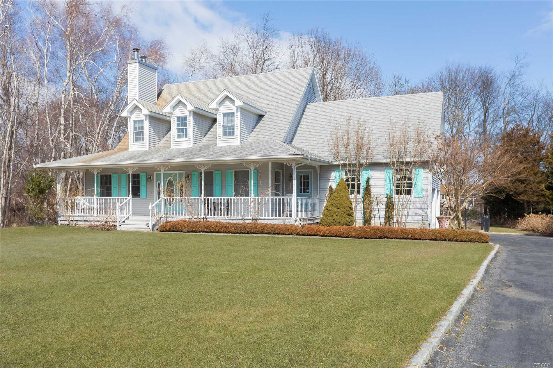 Charming 3 Bedroom With Water views And Deeded Beach Rights In Greenport! A Short Drive To The Heart Of The Village Where Shopping And Restaurants Are Abundant. Farms All Around, Including Vineyards.