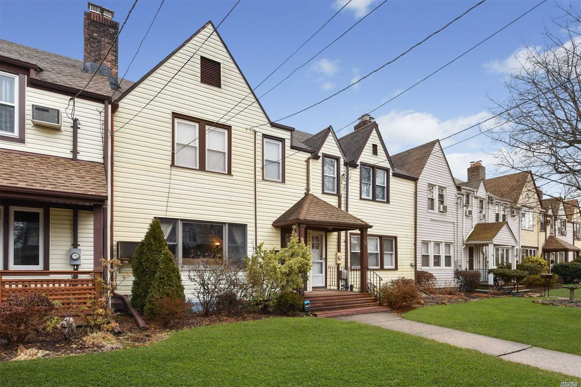 Charming & Updated Tudor Townhouse In Roslyn Schools. All Updated With Private Yard & 1 Car Garage. A Rare Find. Must See