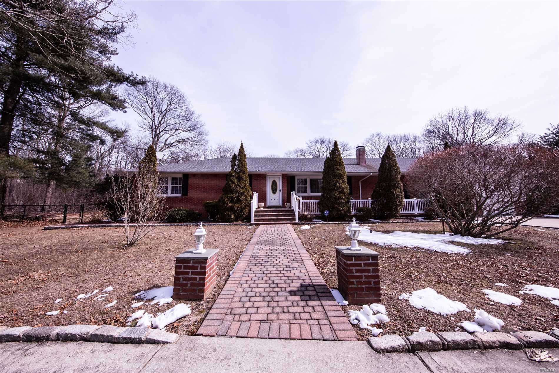 IMMACULATE 3 BEDROOM 2.5 BATH HOME SET ON 2 BEAUTIFUL-FLAT ACRES. FINISHED BASEMENT HAS ROOM FOR MOM . ENTERTAIN IN THE SUN ROOM AND MAKE THE MOST OF YOUR HUGE BACKYARD! THIS HOUSE IS A MUST SEE! HORSE PROPERTY!
