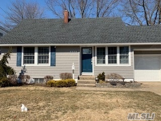 Lovingly maintained expanded cape with fireplace and basement .Everything updated , electric , roof, siding , SS appliances, Jack & Jill bath , skylights, Slider to yard Attached Garage with attic storage Fire pit in fenced yard