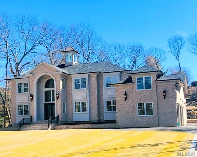 Timeless. Elegant Custom Built Colonial, New Construction 6 Br, 5 Bath 3 C Gar. Build-out Bonus Rm 2nd Fl. 25 Ft Foyer w/Architect Hood. Custom Molding Floor - 10 Ft Basement Ceiling Formal Living Rm & Dining Rm, 1st Fl Guest En-Suite w/ Walk In Closet Rm. Master Wing w/Juliet Balcony, Hardwood Flrs, Changing Rm Soaking Tub Elegant Shwr Master Bth. W/D 2nd Fl. Custom Firepl(2), coffee stat. w10ft Isle, custom cabinets/ farm sink, wainscot Custom molding throughout 15 ft ceiling in Great Room