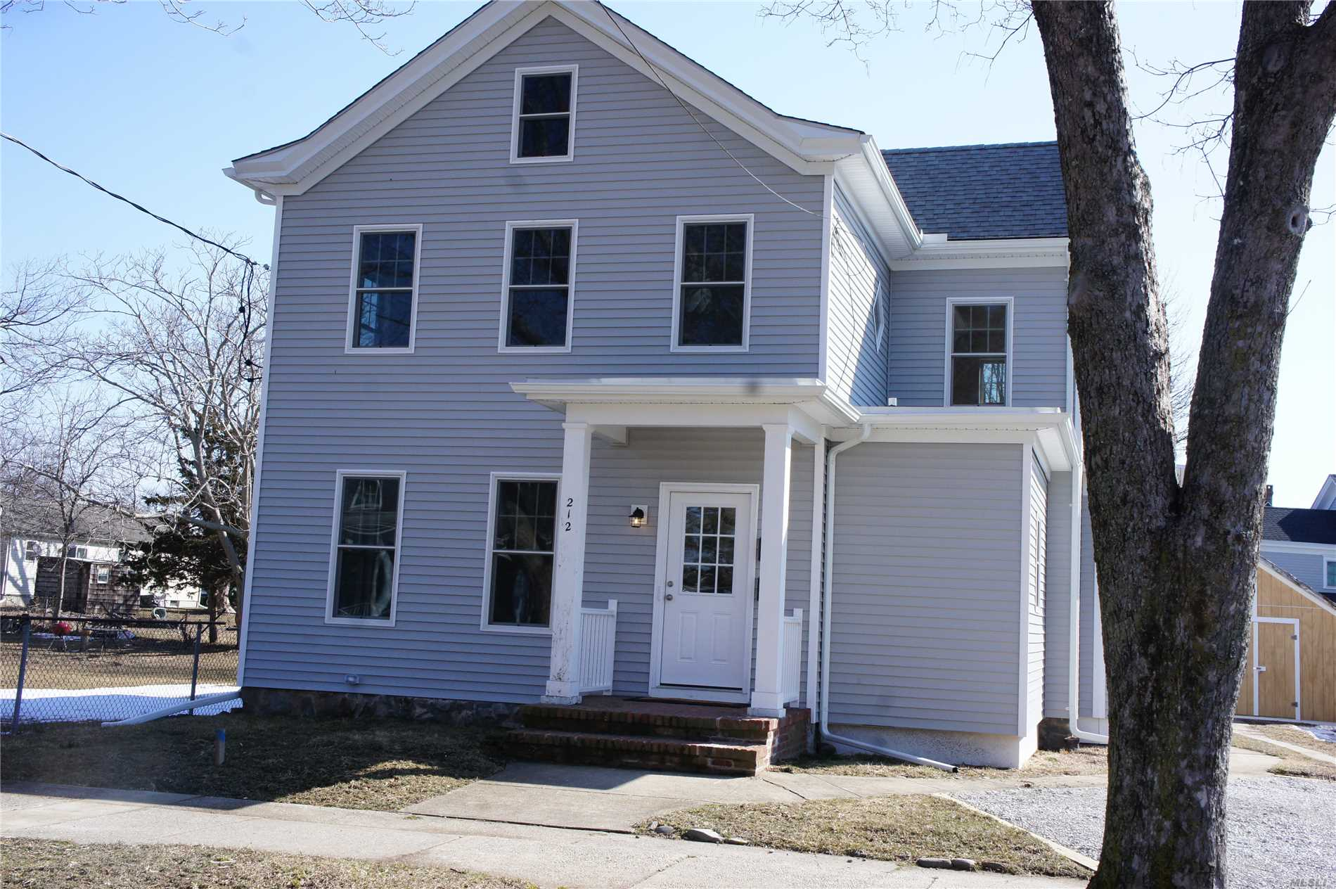 Fully Renovated 2 Family Home in Heart of Greenport Village. Close to all.