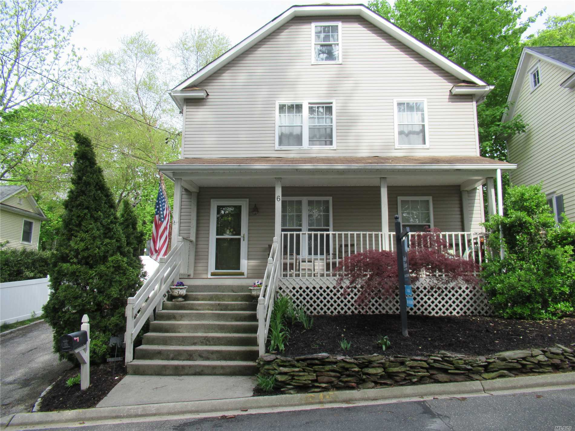 Taxes are currently being grieved. Beautifully maintained village colonial with open concept. sun-filled & spacious! Finished attic with bonus room. move in ready. Very large backyard! Award Winning Locust Valley School District. Close to train, village, golf & private beaches.
