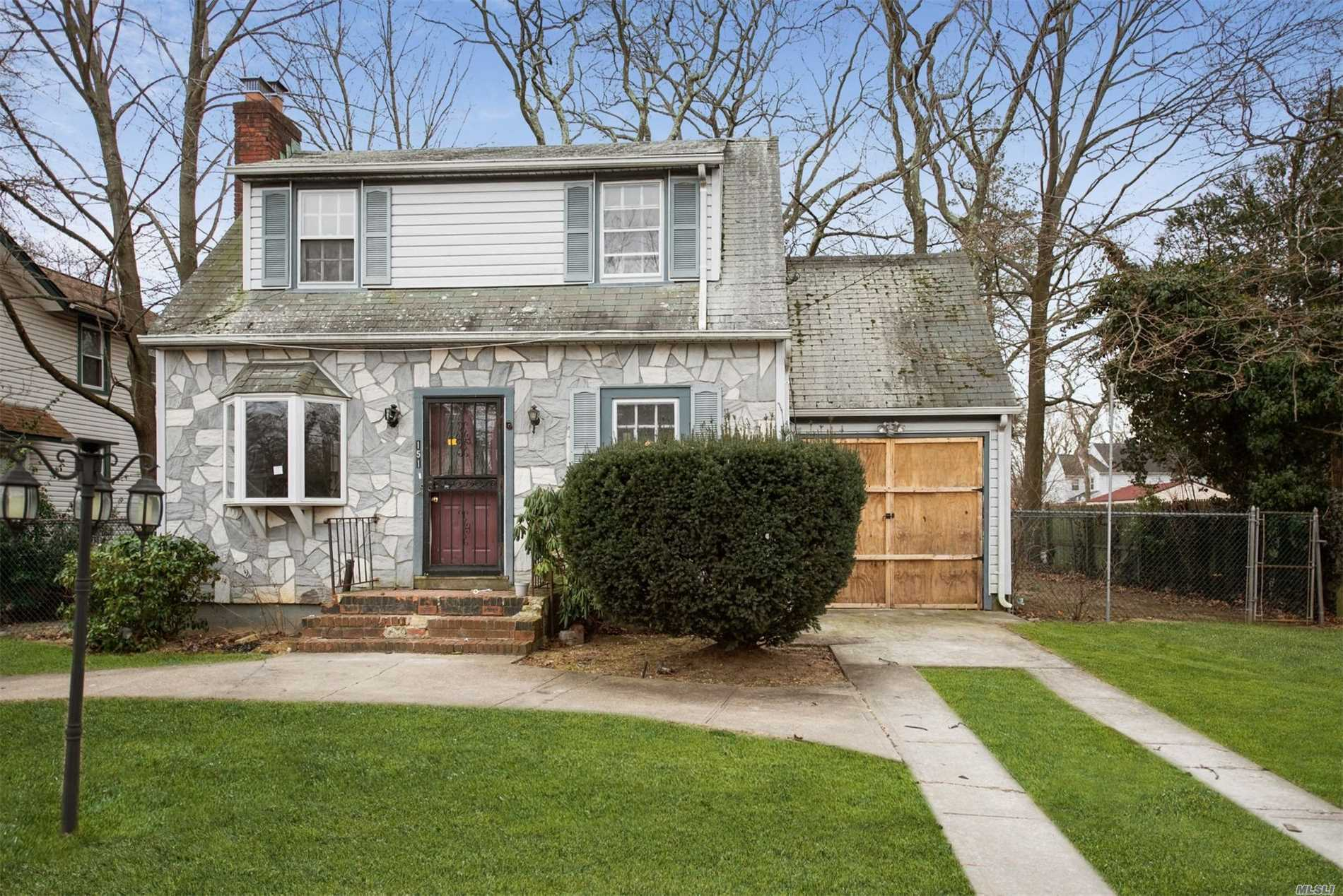 Sweet, Charming Cape Style Home On Quiet Mid-Block Location Needs Your TLC To Make It Home Sweet Home Again! Hardwood Floors Throughout The Home, Wood Burning Fireplace In Living Room & A Formal Dining Room. 3 Bedrooms All Located On The 2nd Floor W/ A Full Bath. Full Basement & Attached Garage For Ample Space/Storage. Come & See The Potential!