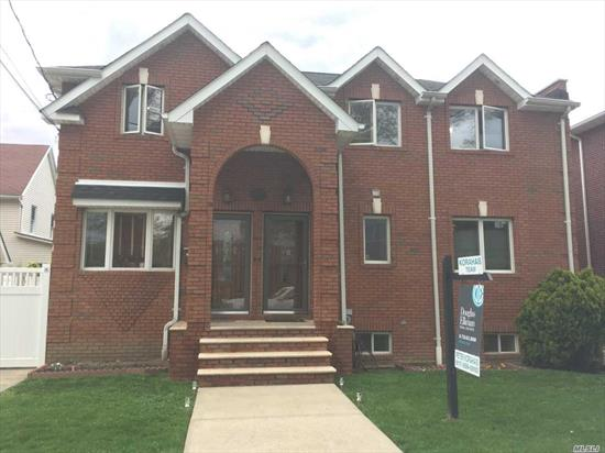 Built In 2007- Solid Brick Detached 2 Family-1st Flr 3 Bedroom 2 Bath , 2nd Flr 2 Bedroom Full Bath, Full Finished Basement Used As Office And Family Room. Conveniently Located To Buses, School And Shopping