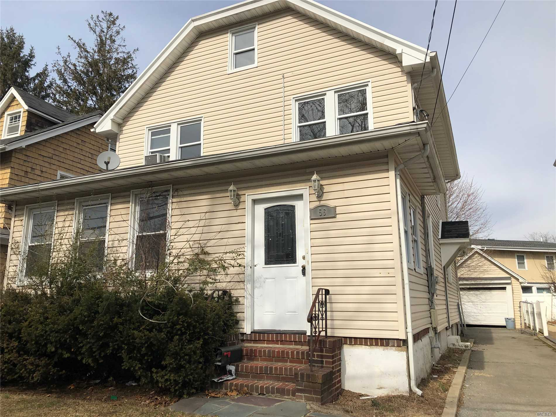 Lovely 3 Bedroom Side Hall Colonial W/Eik, Formal Dining Rm, Den. Finished Attic. Hardwood Floors Throughout. Semi Finished Basement. Lr W/Fplc. Sd#14. Priced To Sell!!!