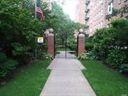 Beautiful TOP Floor updated apt .With no one Above You !! Lots of furniture so difficult to appreciate size. A must see to appreciate apt. Excellent Condition. Maintenance includes PROPERTY TAXES, heat, water, mgmt fees etc,  At the West Hempstead Borner in Cathedral Gardens. Just minutes from Garden City's famous Restaurants and shops. Hospitals Universities parkways and the LIRR.. Sorry, NO Dogs though...