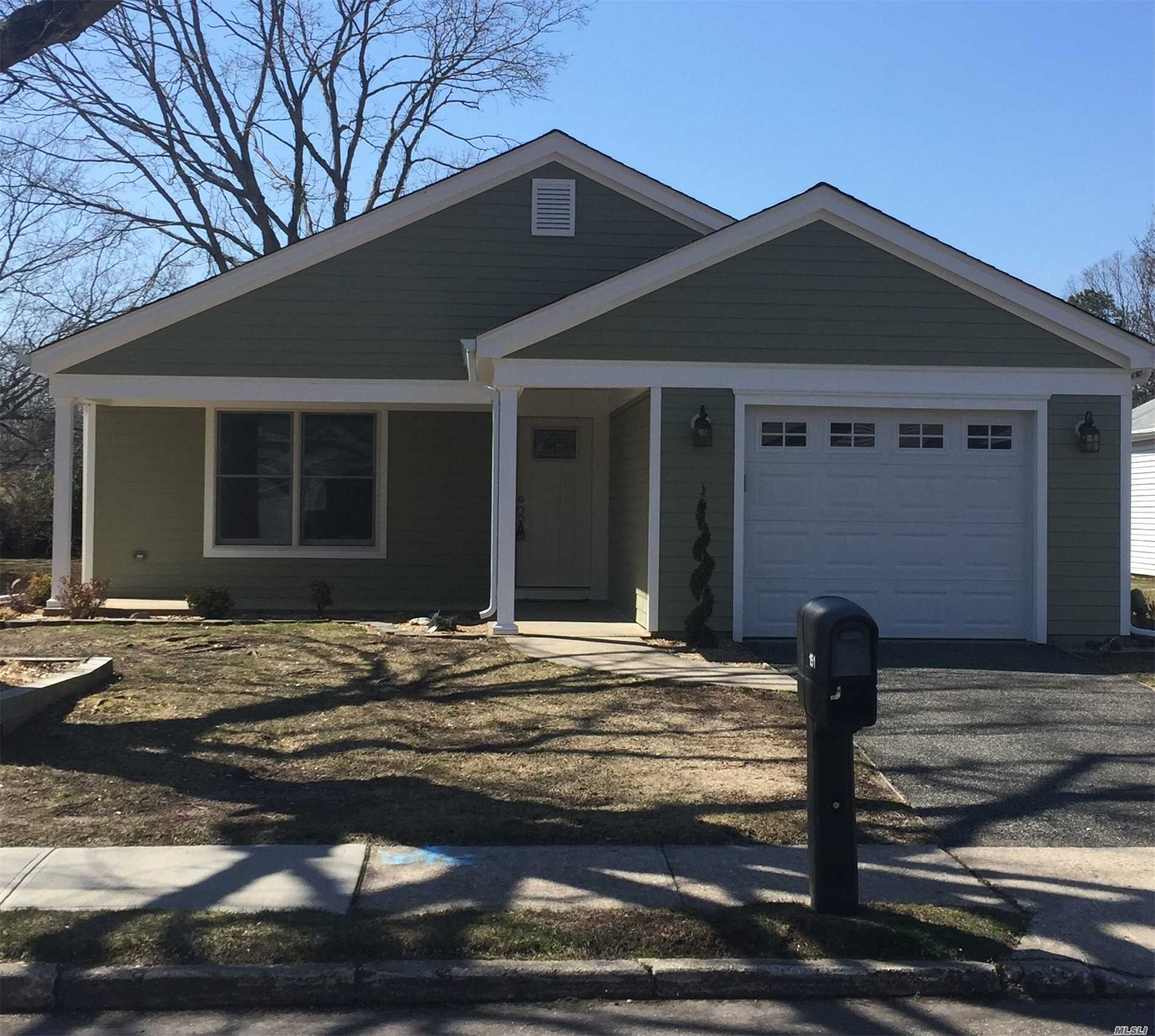 This home requires you just to move in, everything has been done! It is an expanded Ardmore model with an open and spacious floor plan. This home has been completely rebuilt with an insulated flooring system throughout the entire house. This home has Hardy Plank siding, new Anderson windows, a new roof, and so much more. Leisure Knoll is an active community, secure this home now.
