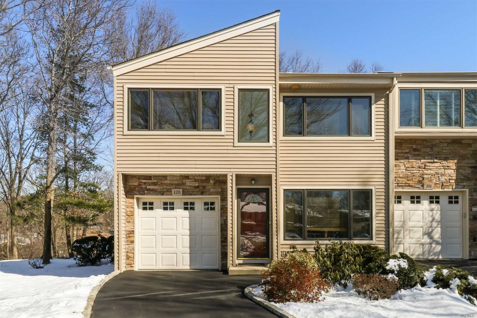 Spacious End Unit Townhome just Minutes from Northport Village. Large Living Space and Back Deck, 1-Car Garage and Full Finished Basement. Tons of Natural Light. Large Master Suite with Private Balcony, 2 Walk in Closets & Master Bath. 2 Large Bedrooms & Full Bath. Plenty of Closet Space and Storage. Make this Home your Own.