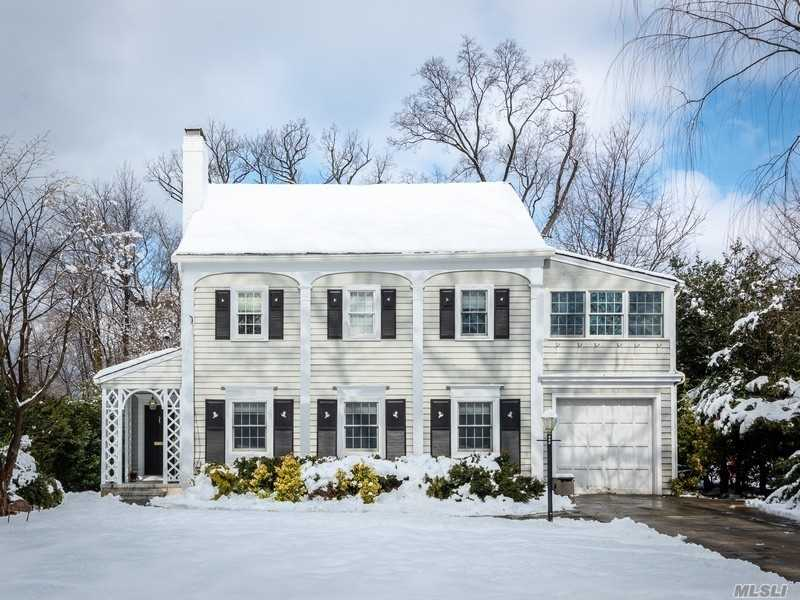 Charming Side Hall Colonial with expansive property, new kitchen, spacious bedrooms and bonus space! A commuters delight on a picturesque street. A wonderful opportunity. Tax grievance in place for 2019/2020.