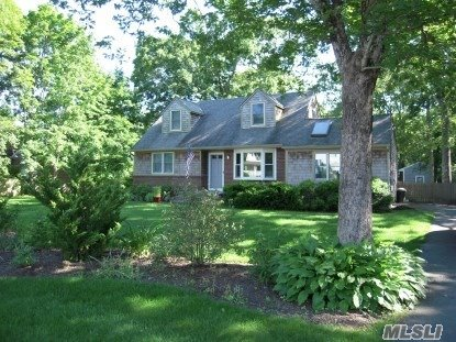 Charming Cape with in-ground pool and large yard. Four bedrooms, large full basement. Located in the heart of East Quogue just down the road from the school and the park.
