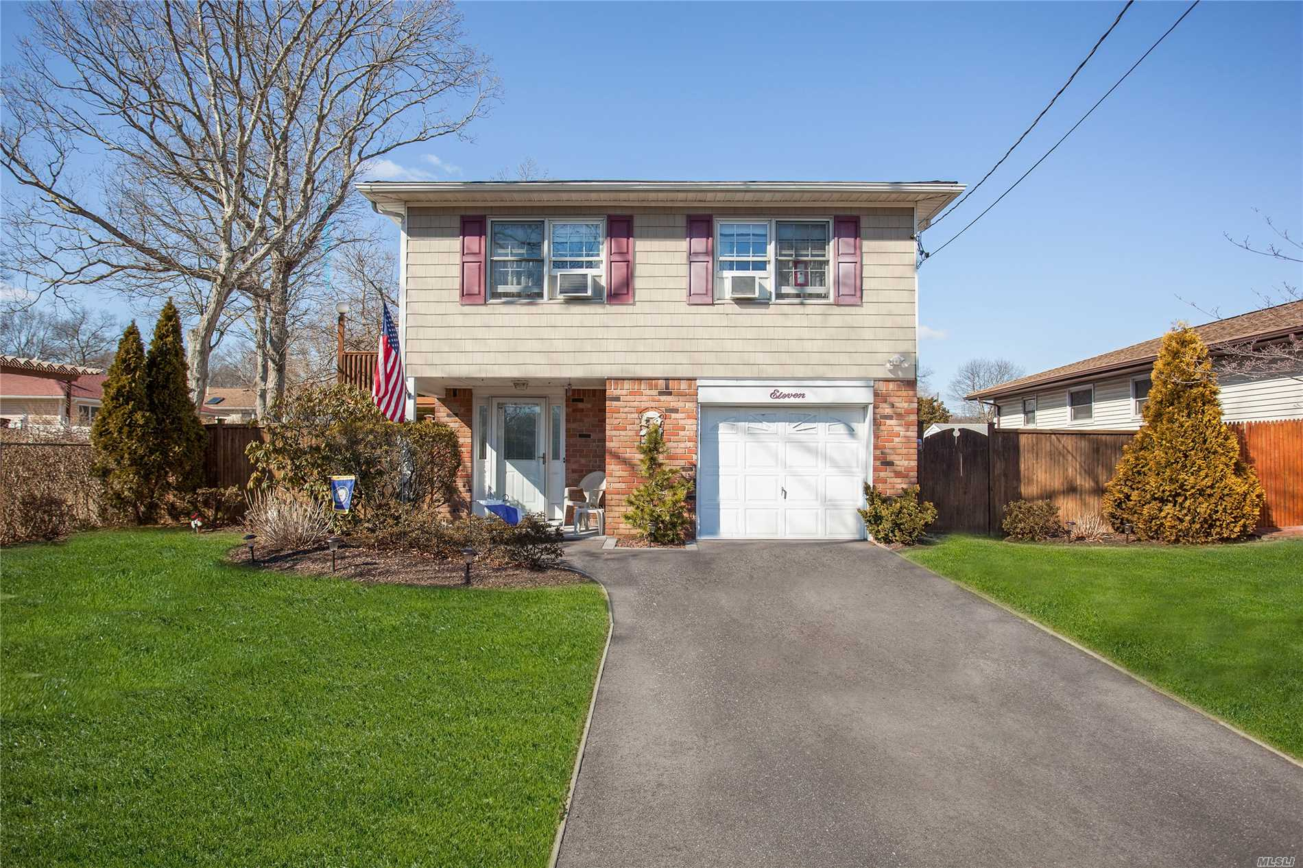 Plenty Of Space For All Large Rooms Throughout, Hardwood Under Second Floor Carpets, Updated Burner and Oil Tank, New Washer, And New Bath. Sliders Lead Out To The Deck And Spacious Yard With Brick Patio And Two Sheds. So Much Potential In This Home. Not To Be Missed! Taxes with star 8298.55