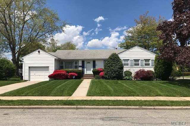 This exp ranch in the very desireable Forest City section within the award-winning Levittown SD (Mac Arthur HS) is a gem and true definition of a home. Very lg living & dining area w/preserved hardwood flrs, CAC, new kit applcs, freshly painted rms, updated master bath & upgraded electrical panel. Huge basement. Great home for entertaining with so much space! Gas in house. This is truly the perfect mix of a move-in home with the potential to update the house to your pleasure.