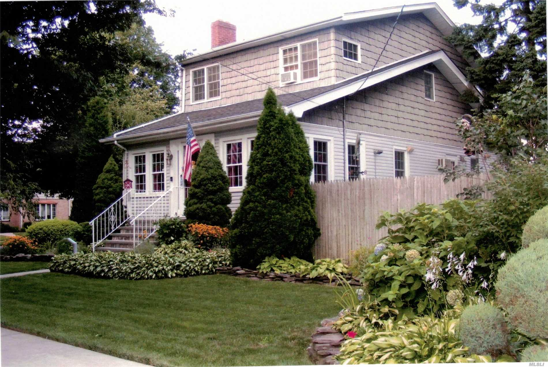 Magnificent Detached 3 Bedroom, 3 Full Bath Colonial located on a Quiet Tree Lined Street in the Heart of Beautiful Bayside. Convenient To All Shopping Along Bell Blvd & Bay Terrace Shopping Center. 7-10 Minute Walk To Lirr. Q12, Q13 To No. 7 Train, Main St, Fl. All House Of Worship Nearby. Easy Access To All Major Hwys. Lots & Lots Of Extras. Dining Rm Fixture Excluded. Must See This Georgeous Corner 70x100 Property. Above Ground Pool. This Home Has it All. Not to be missed! Sch Dst. 26