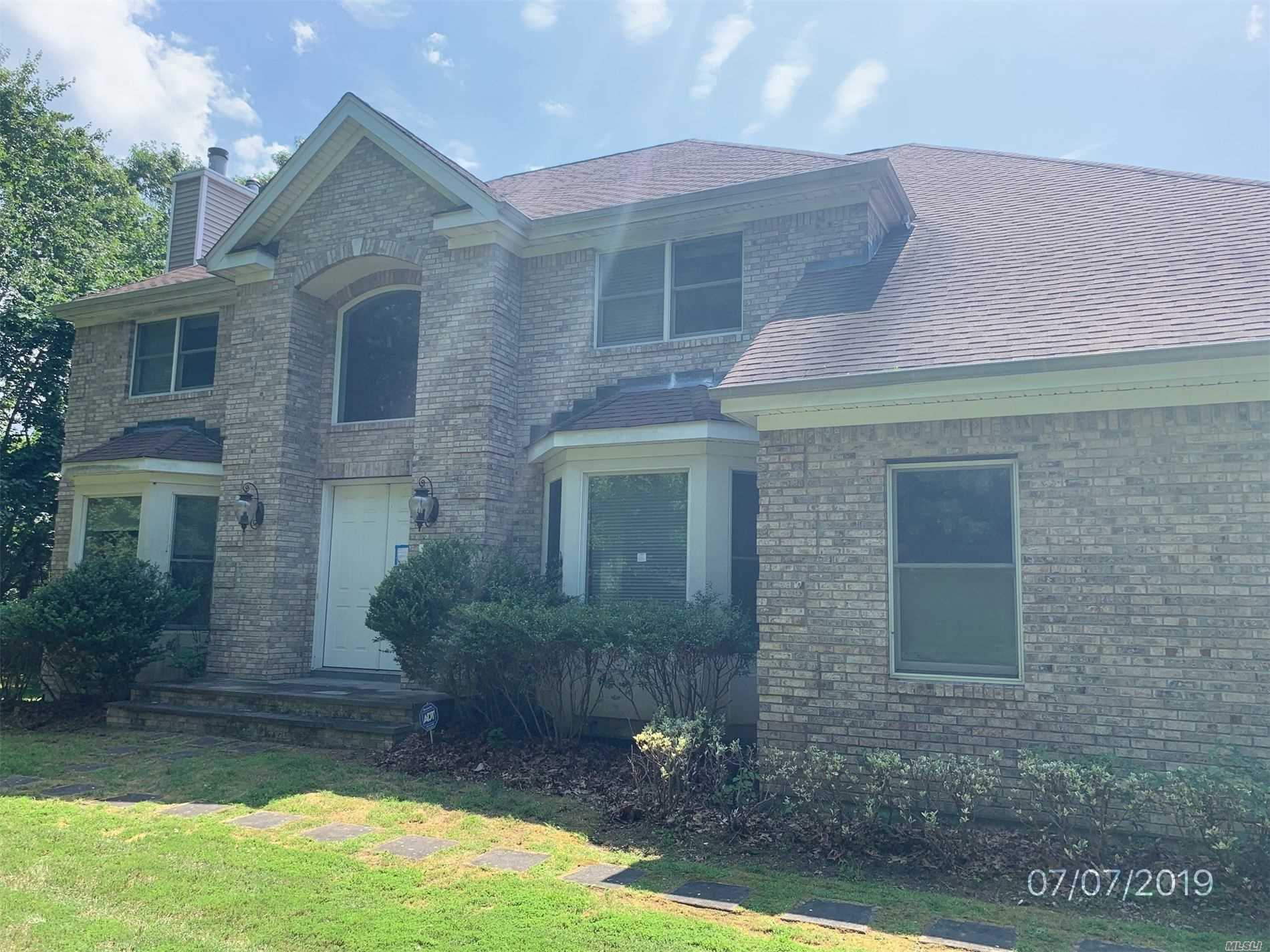 This Is A Bank Owned Property Colonial Spacious 5 Bedroom, 2.5Baths. This Home Offers Endless Possibilities For The New Owners. It won't last!!