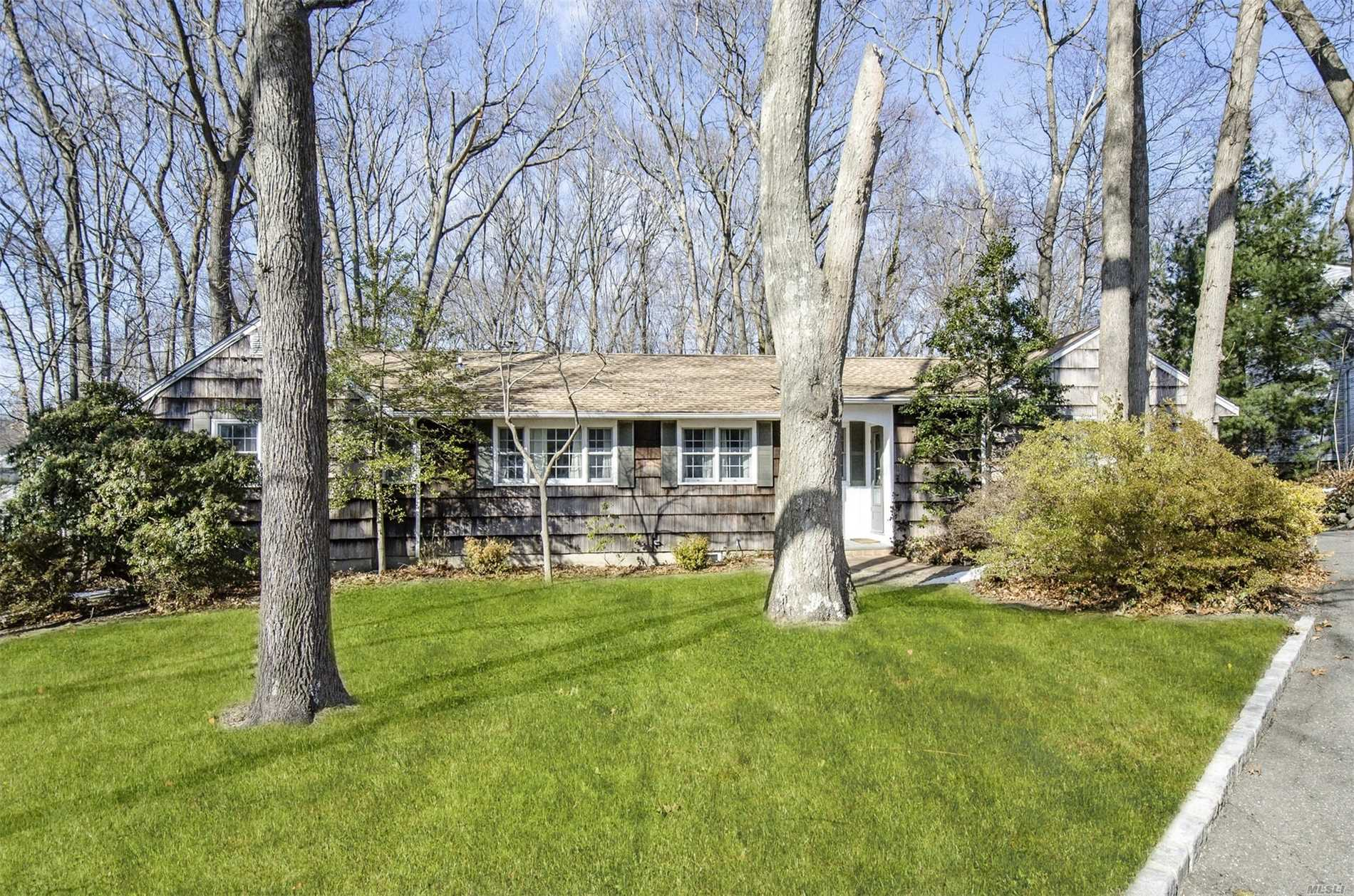 Do not miss this charming well maintained 3 bedroom 2bath ranch home on great flat wooded .43 acre in Northport. Beautiful hardwood floors, updated windows, 2 year old roof, full attic and loads of potential. Northport Schools SD#4. Don't wait!
