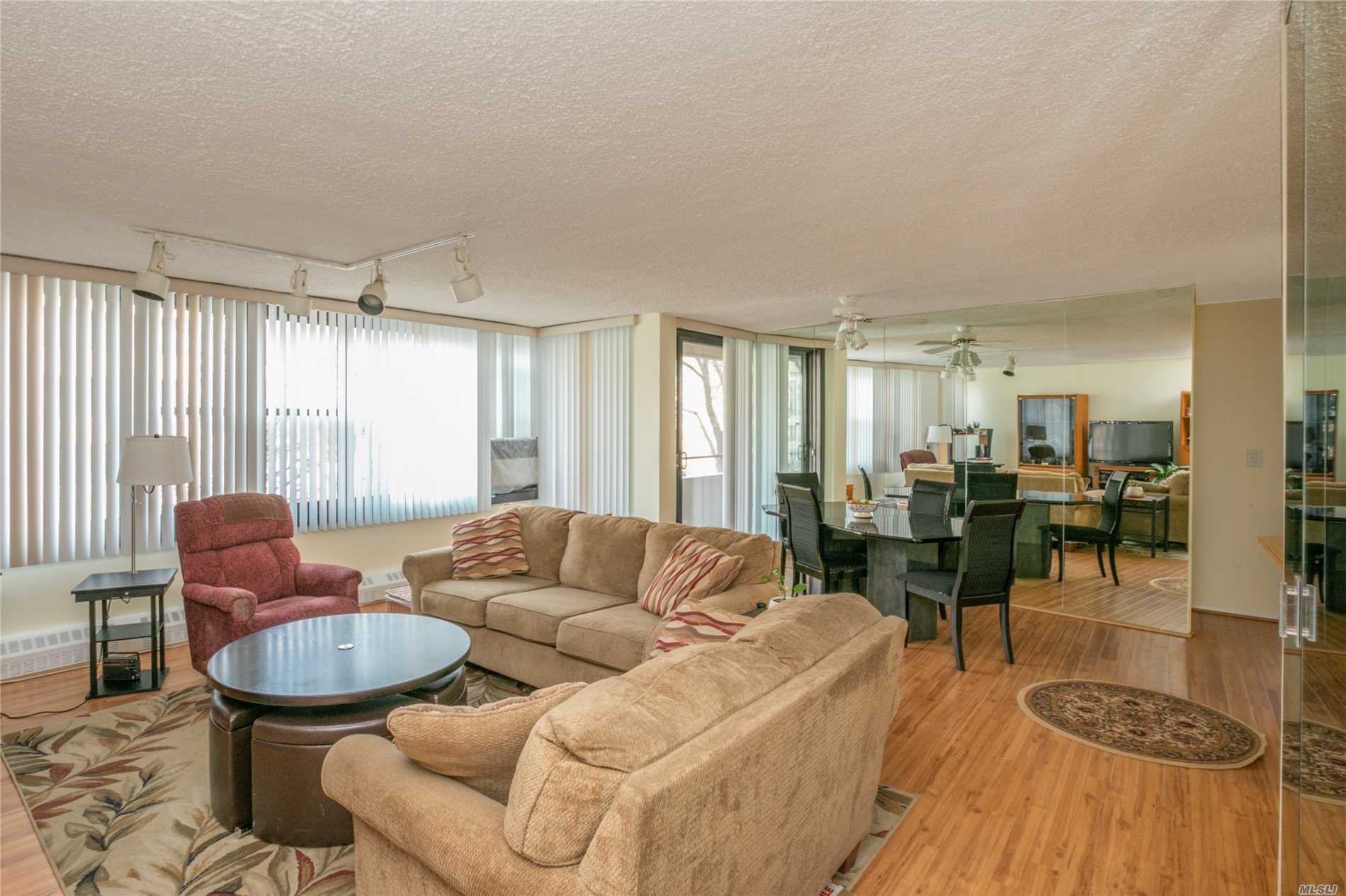Beechhurst Le Havre 2 bedroom co-op with private terrace and sunset views. Move in ready or design to your personal taste. Prime location and parking space. Close to the Le Havre pool, playground, Local Bus to Flushing Q15 and Express Bus QM2 to Manhattan. Le Havre Development offers 2 Outdoor pools, Tennis, Gym & Cafe.