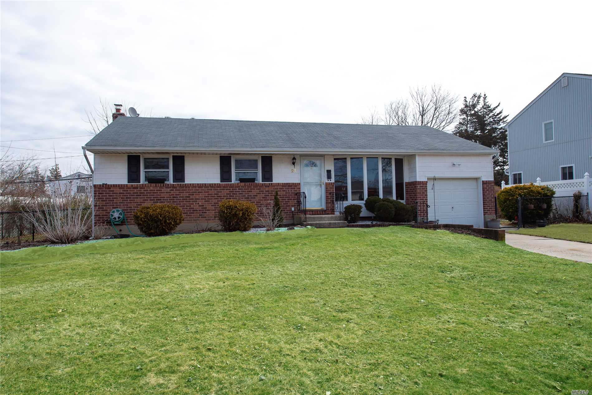 Spectacular 4 Br Ranch in the Commack School District with in-ground pool in a quiet residential neighborhood and a full basement.