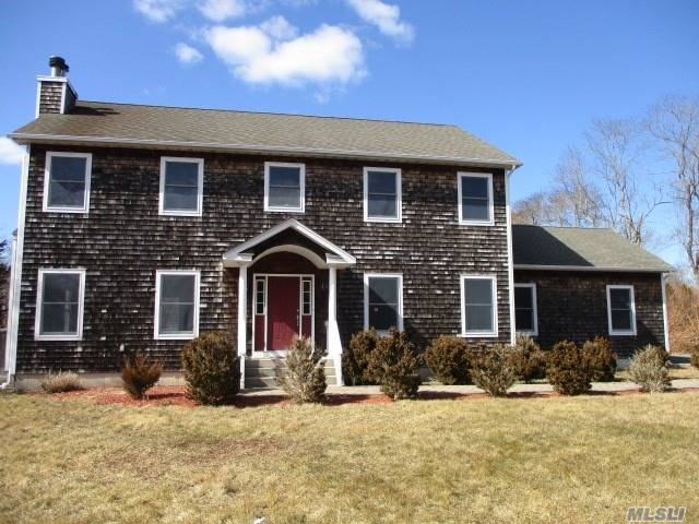 Colonial Style Home. This Home Features 4 Bedrooms, 2.5 Baths, Dining Room, Eat In Kitchen & 2 Car Garage. Centrally Located To All. Don't Miss This Opportunity!