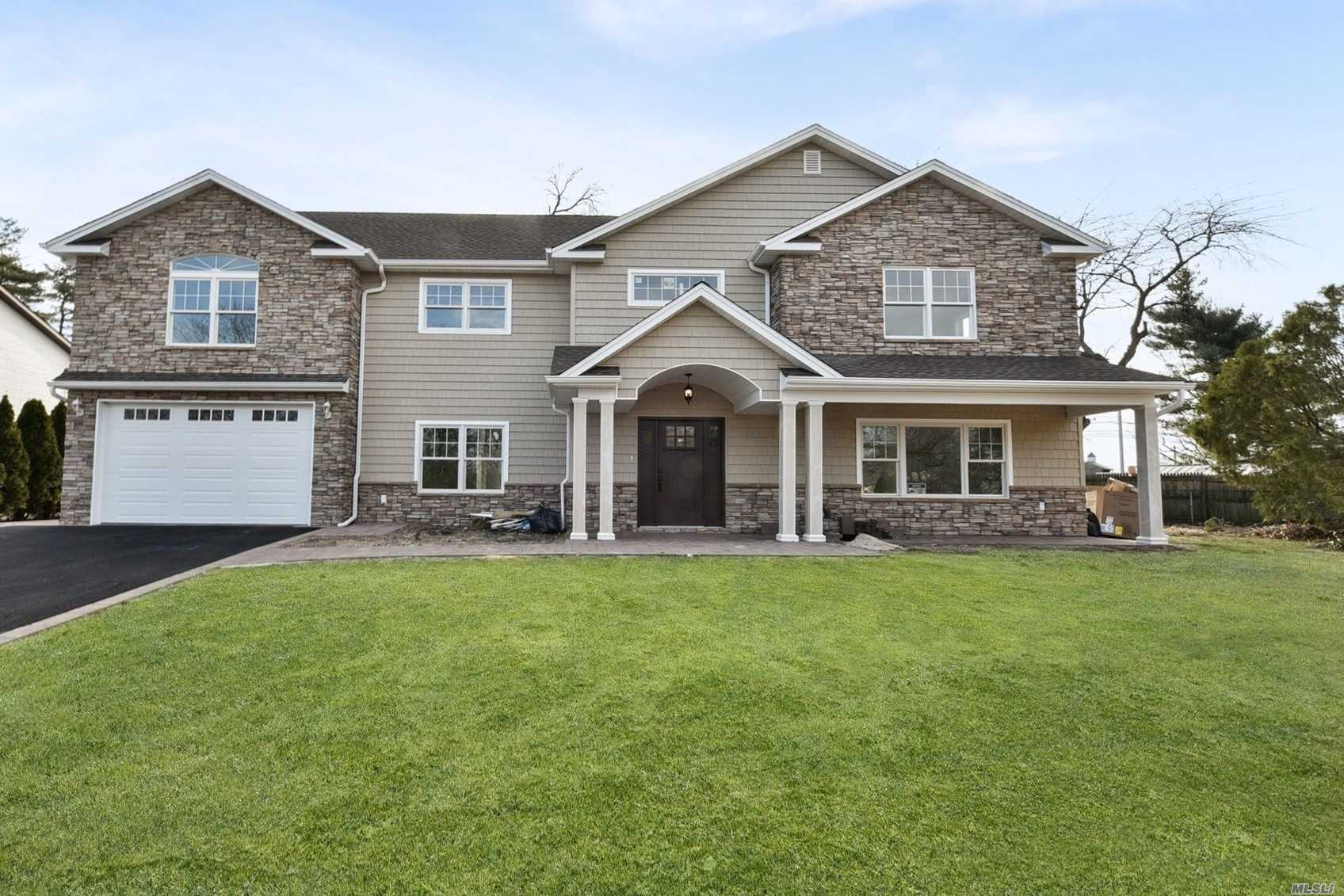 Beautiful Colonial on Oversized Property. Gourmet Granite Kitchen, Master suite with Gorgeous Bath and Multiple Walk in Closets. All Generous sized Bedrooms, Central Air and Central Vac. Truly Magnificent Home.
